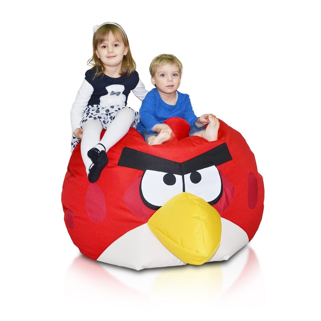 Angry Birds cervena