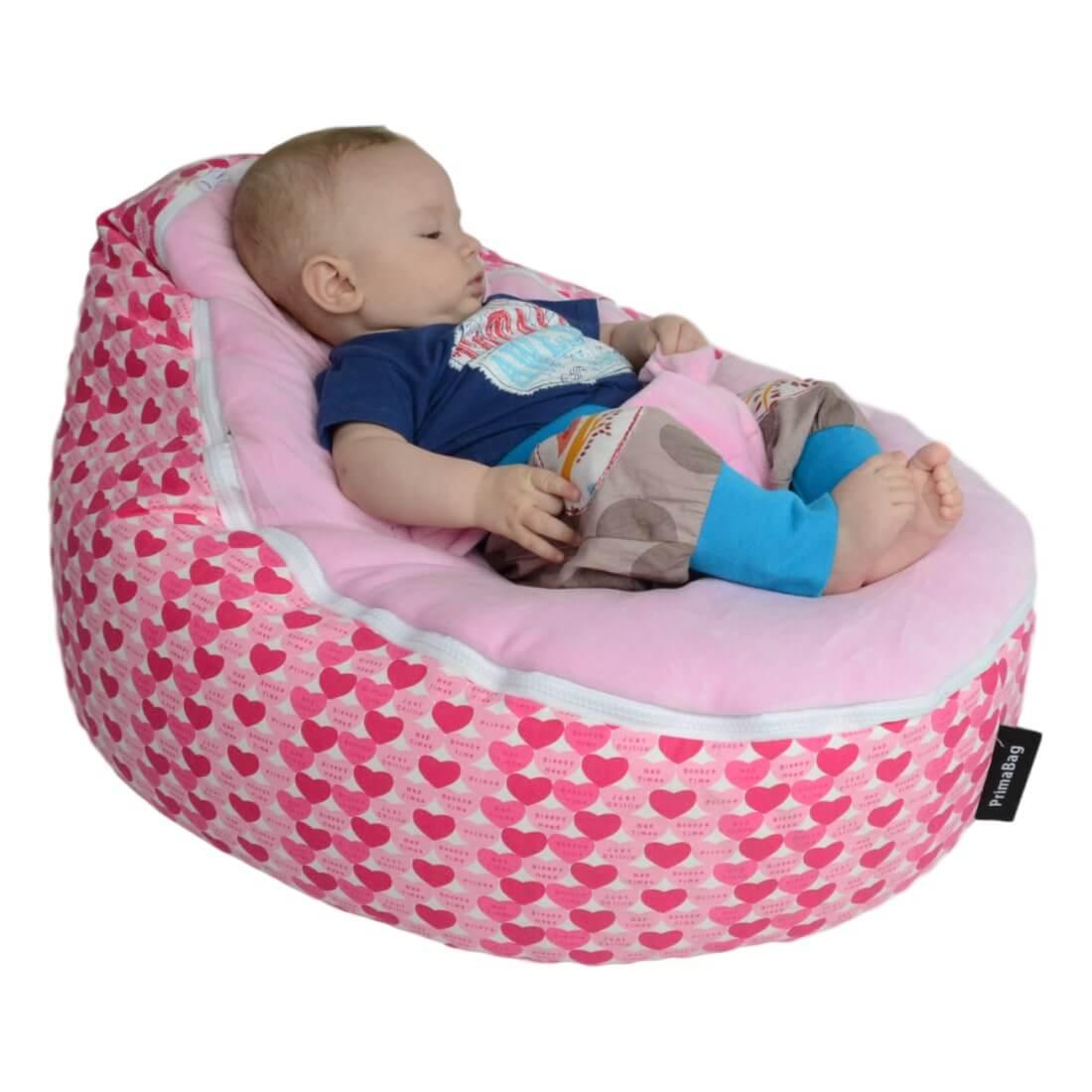 Vak pro miminka Baby Snooze ruzova