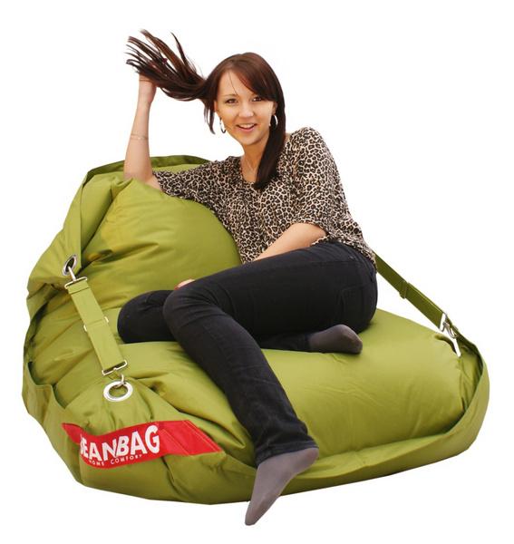 Beanbag Comfort olivova