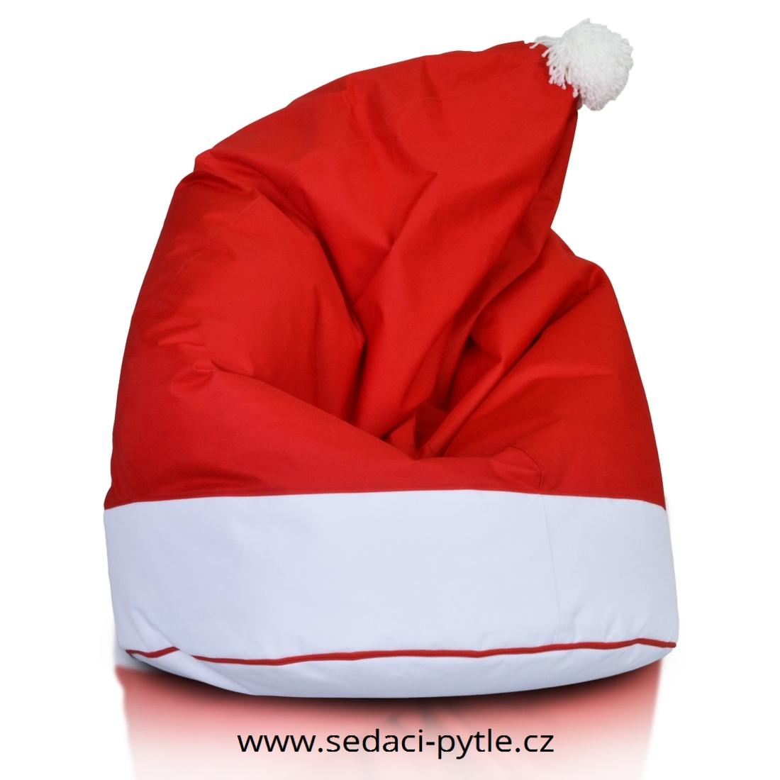 Mikulašská čepice cervena