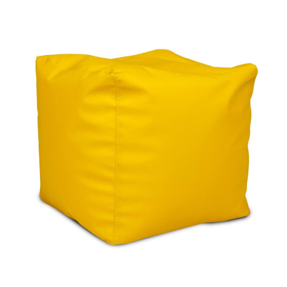 Cubes velký 50x50 cm citronova