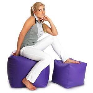 Cubes velký 50x50 cm fialova
