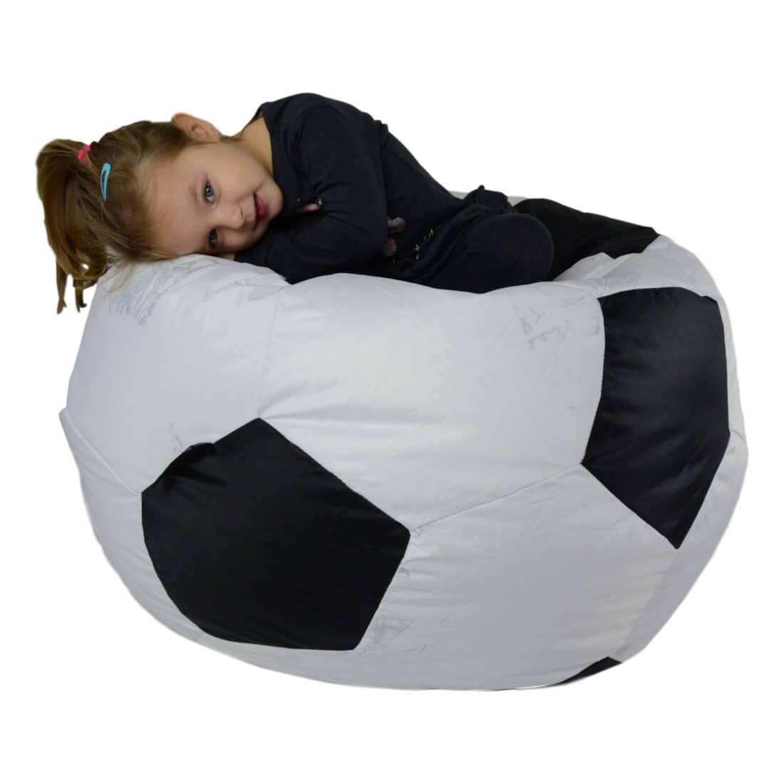 Fotbalový míč střední nylon (2. jakost) cerna