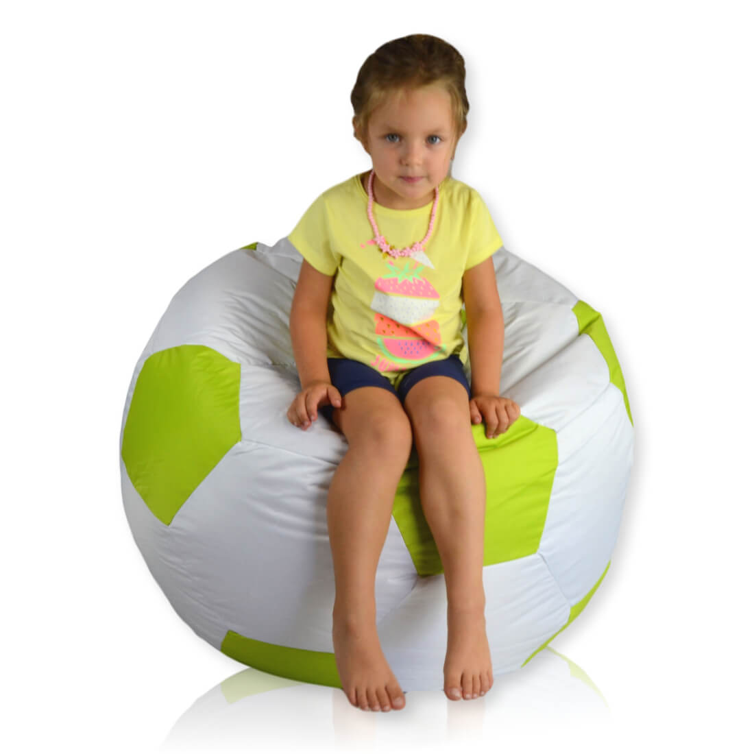 Fotbalový míč velký nylon limo