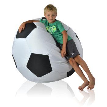 Fotbalový míč nylon (2. jakost) cerna