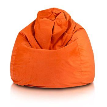 Fuzzy plyš oranzova