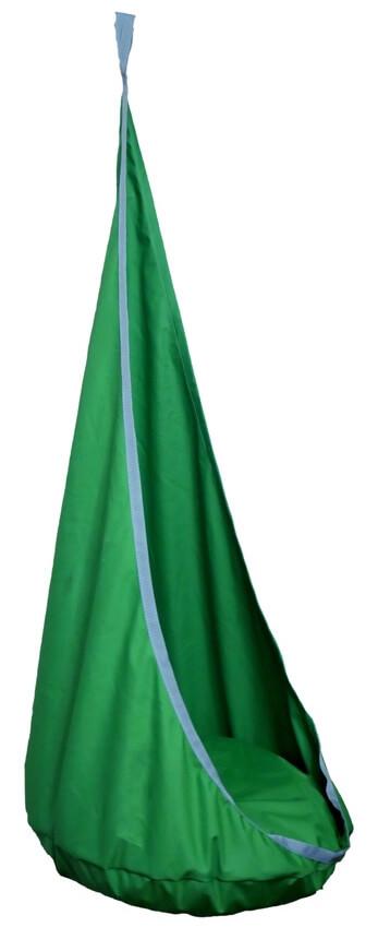 Závěsný houpací vak Ideal velký Ø80cm zelena
