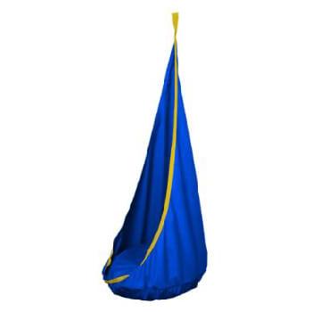 Závěsný houpací vak Ideal velký Ø80cm modra