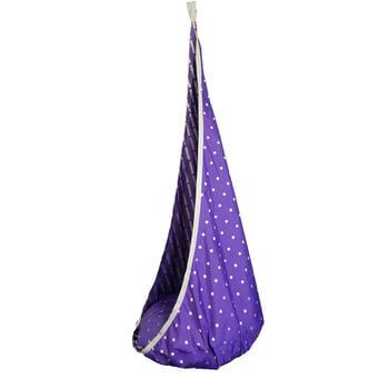Závěsný houpací vak Ideal fialova