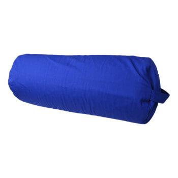 Bolster na jógu 60x23 cm modra