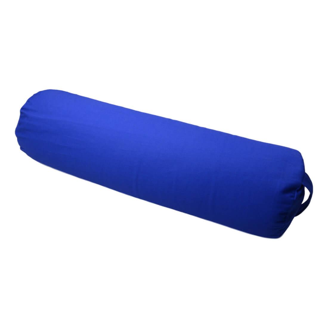 Bolster na jógu 70x20 cm modra