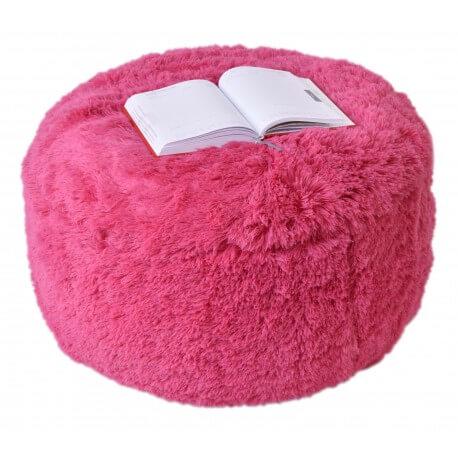 Puf Knitty Air Fluffy ruzova