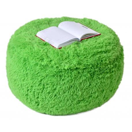 Puf Knitty Air Fluffy zelena