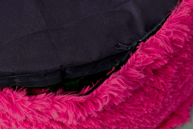 Nafukovací taburet Knitty Air detail