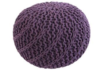 Puf Knitty Design Side fialova