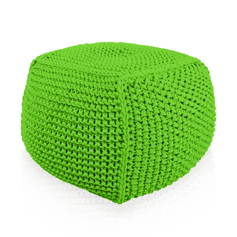 Puf Knitty Square Premium limo