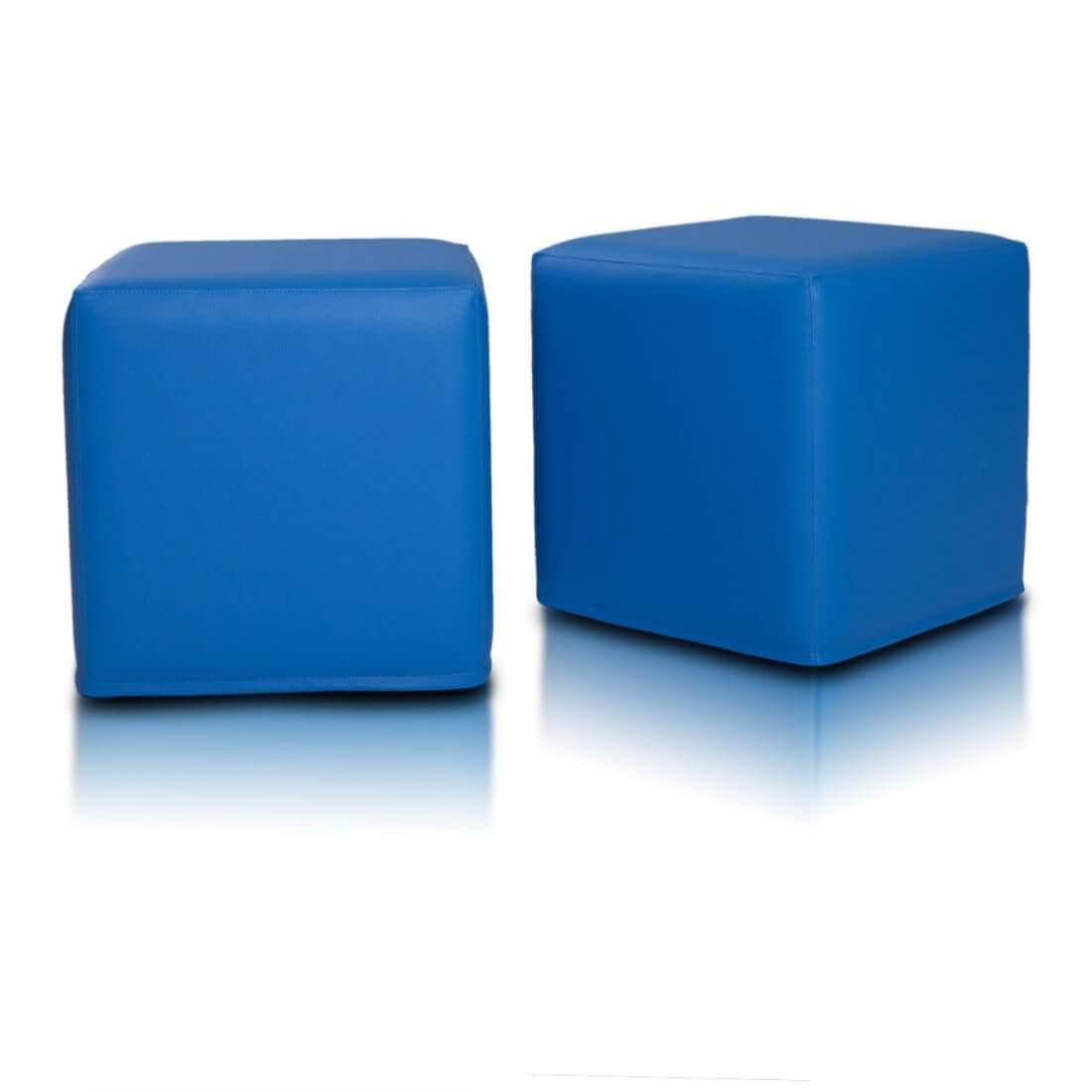 Kostka 40x40 cm modra