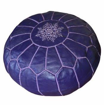 Marocké taburety fialova
