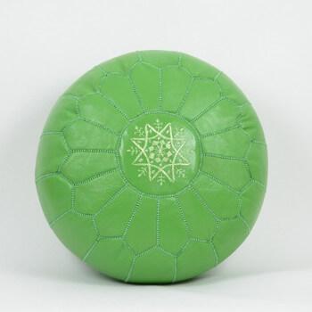 Marocké taburety zelena