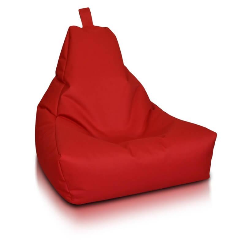 Medic malý polyester cervena