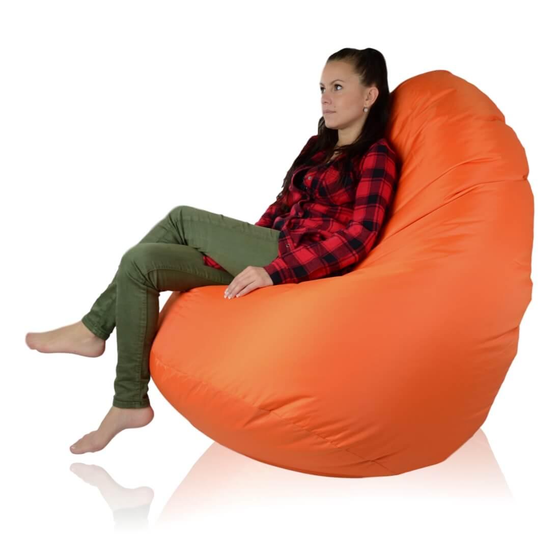 Mega Sako polyester oranzova