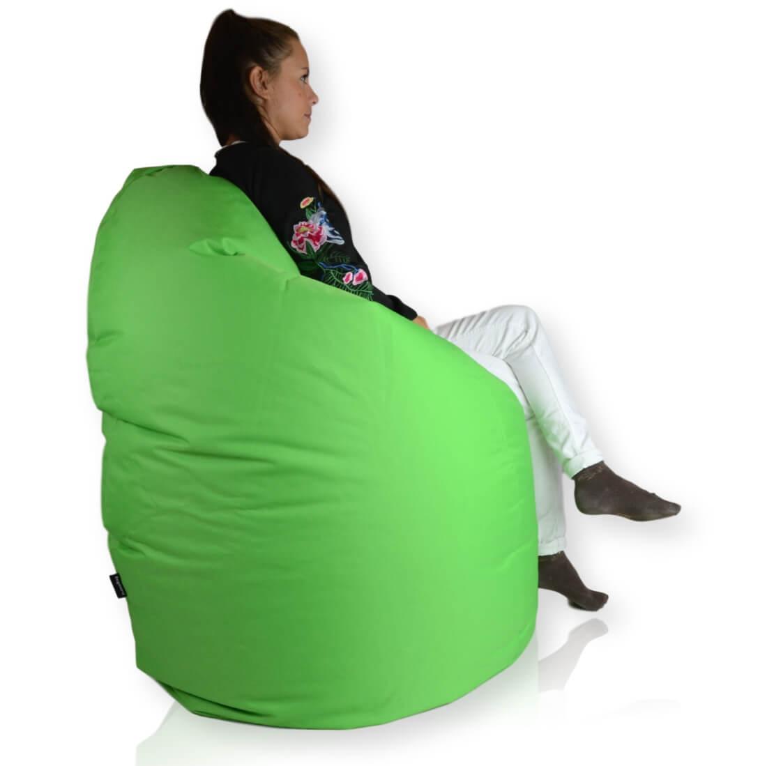 Mega Sako polyester zelena