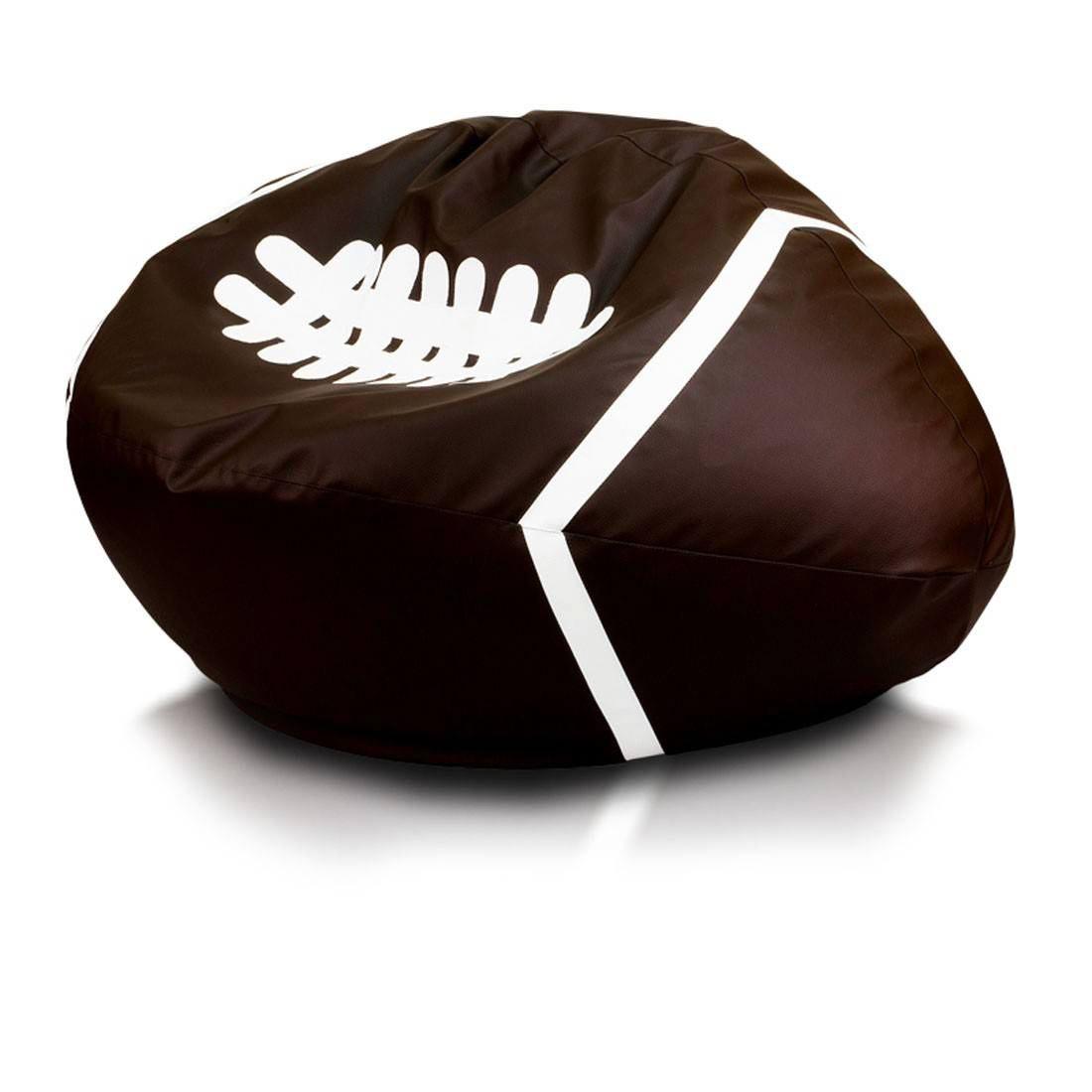 Míč Rugby tmavehneda