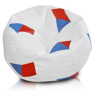 Fotbalový míč vlajka cervena