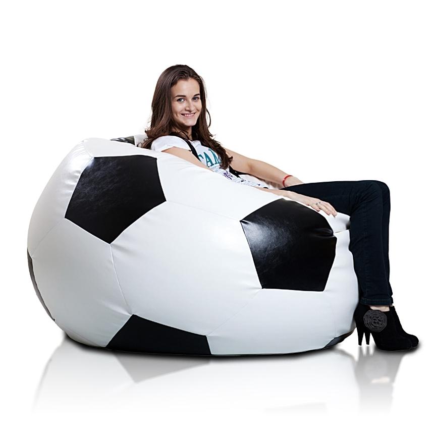 Fotbalový míč XXXL cerna