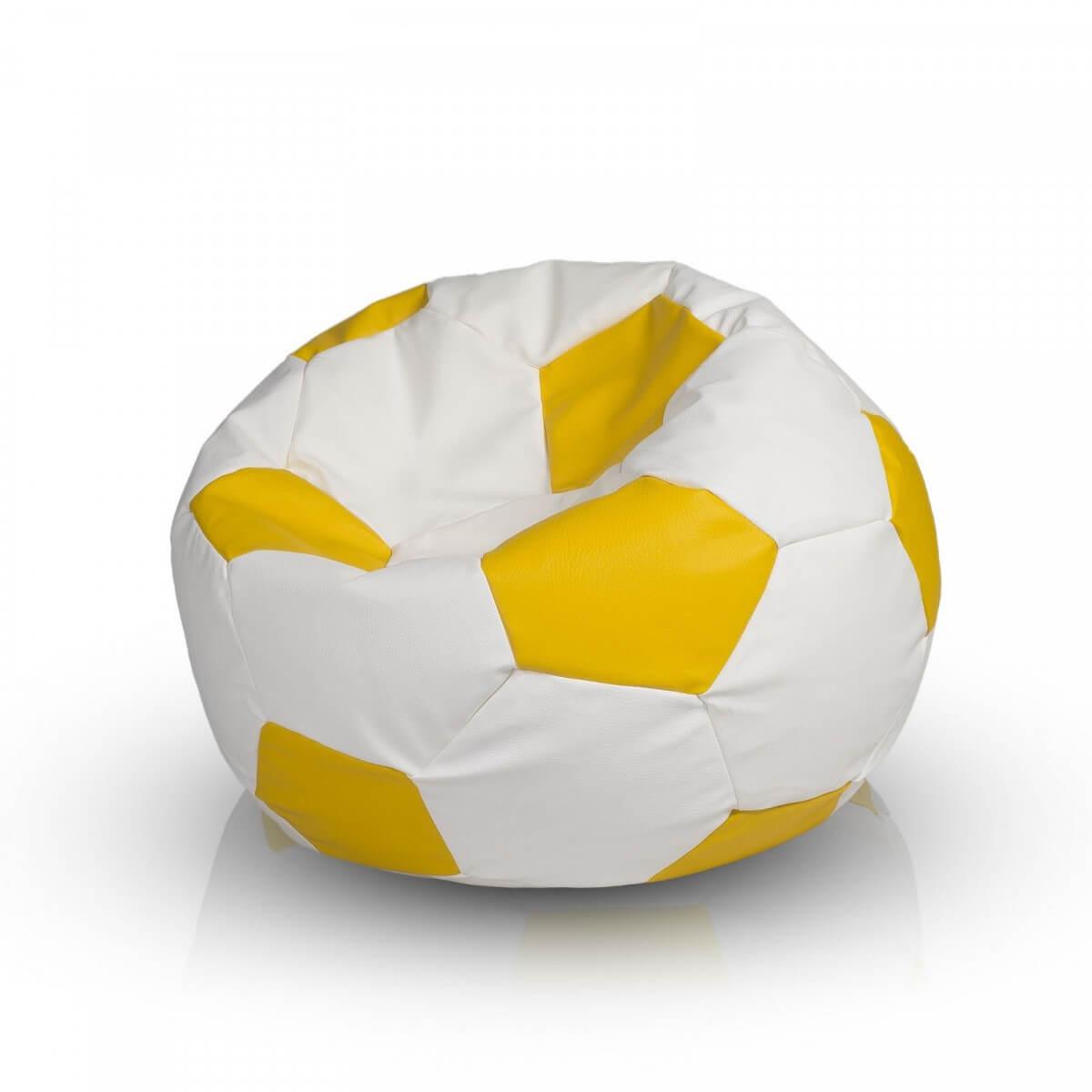 Fotbalový míč XXXL citronova