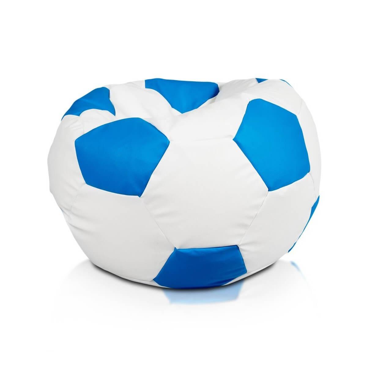 Fotbalový míč XXXL nebeska