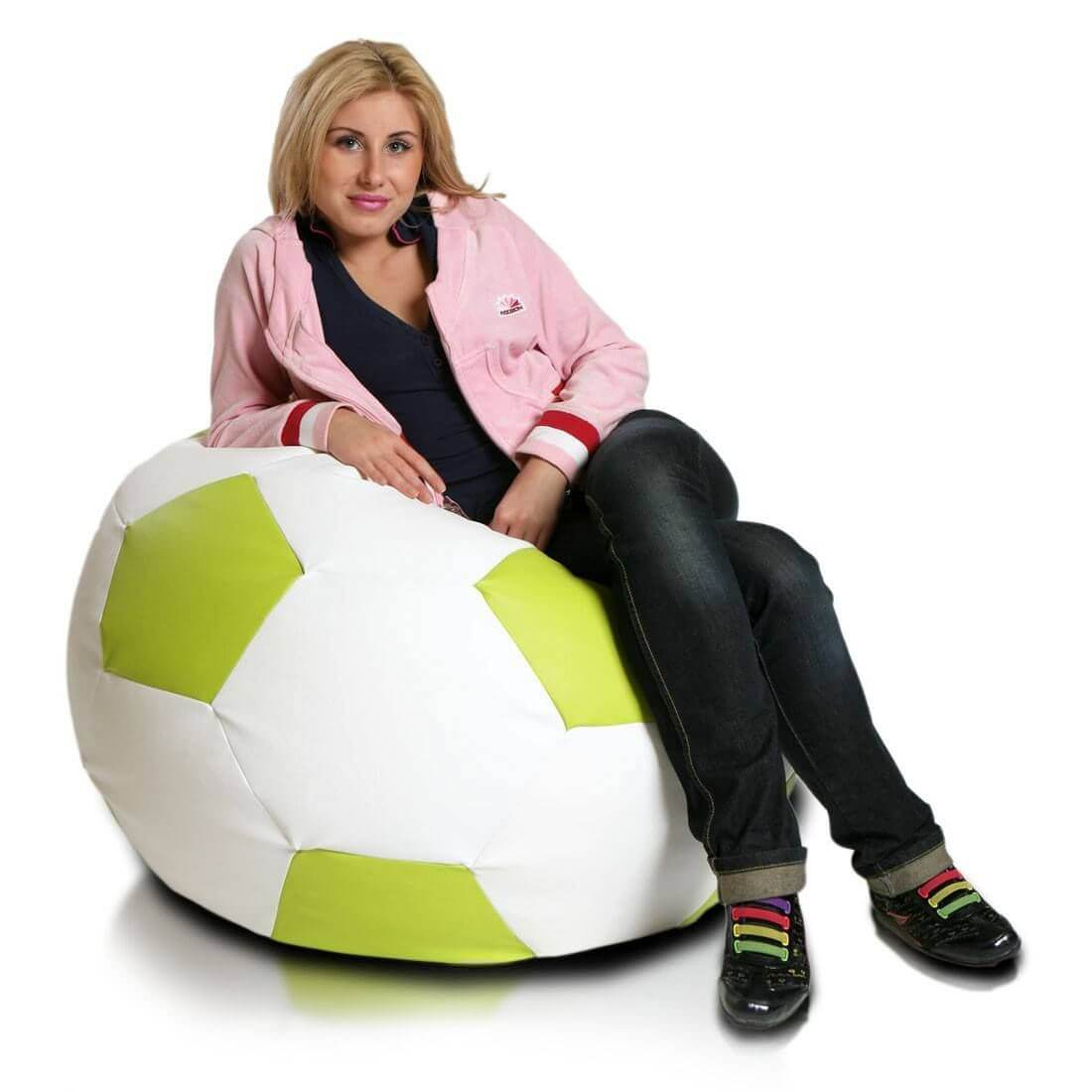 Fotbalový míč velký limo