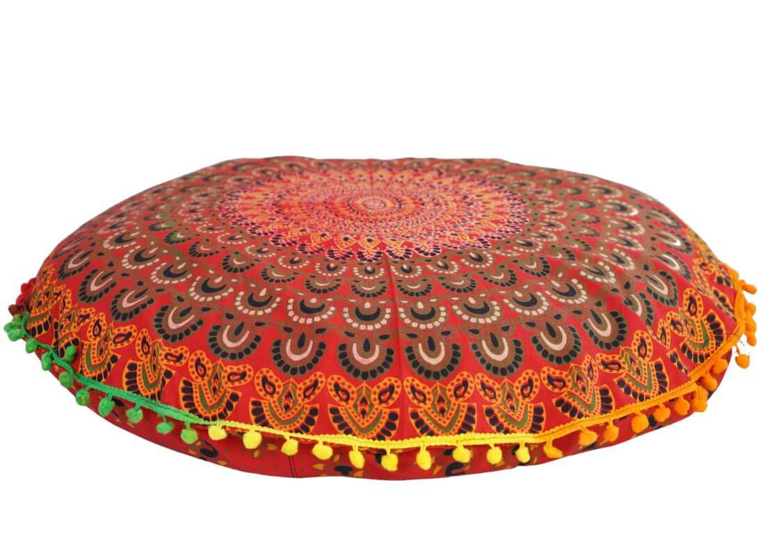 Indický polštář Mandala 60 cm mandala2