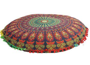 Indický polštář Mandala 80 cm mandala1