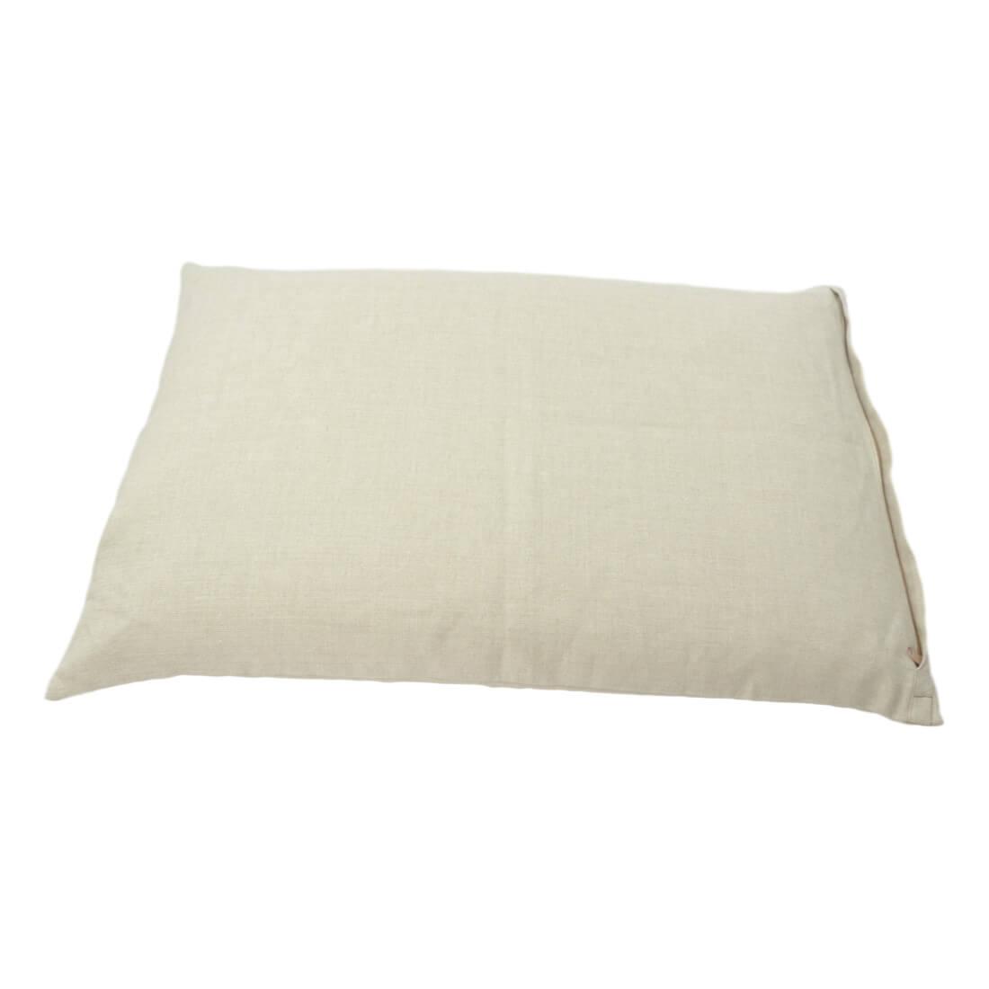 Pohankový polštář 60x40 cm natural