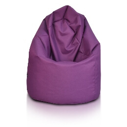 Sako polyester fialova