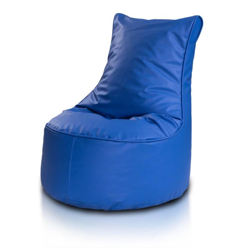 Seat ekokůže modra