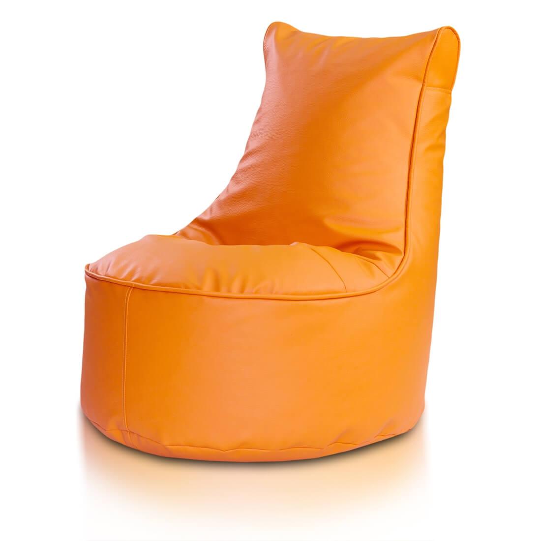 Seat ekokůže oranzova