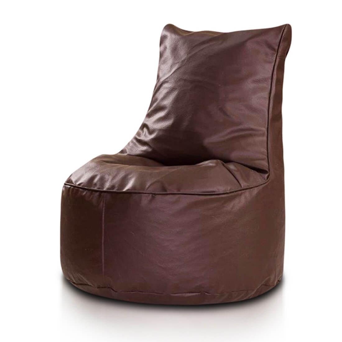 Seat ekokůže tmavehneda