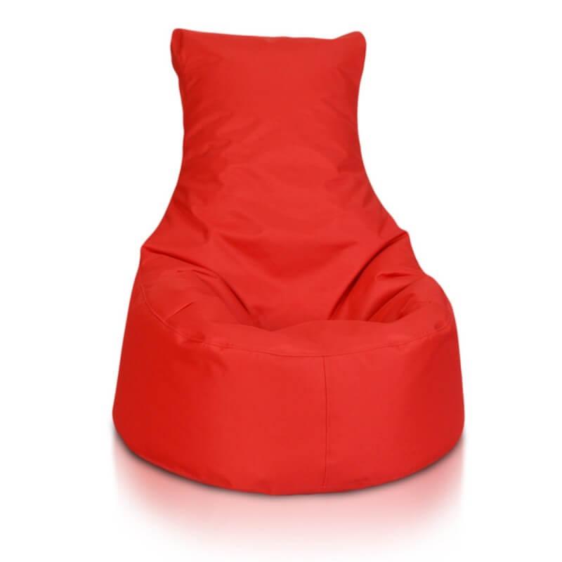 Seat malý polyester cervena