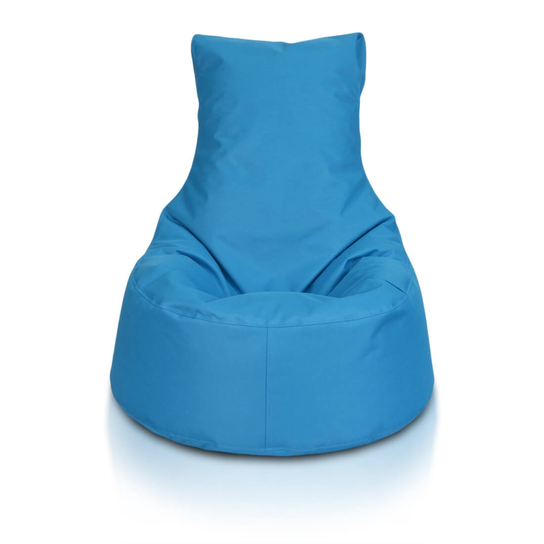 Seat malý polyester modra