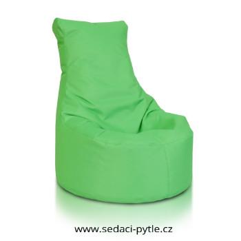 Seat malý polyester zelena
