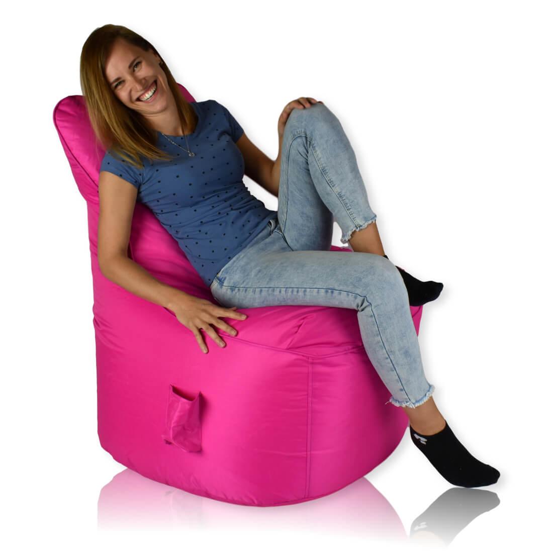 Seat nylon ruzova
