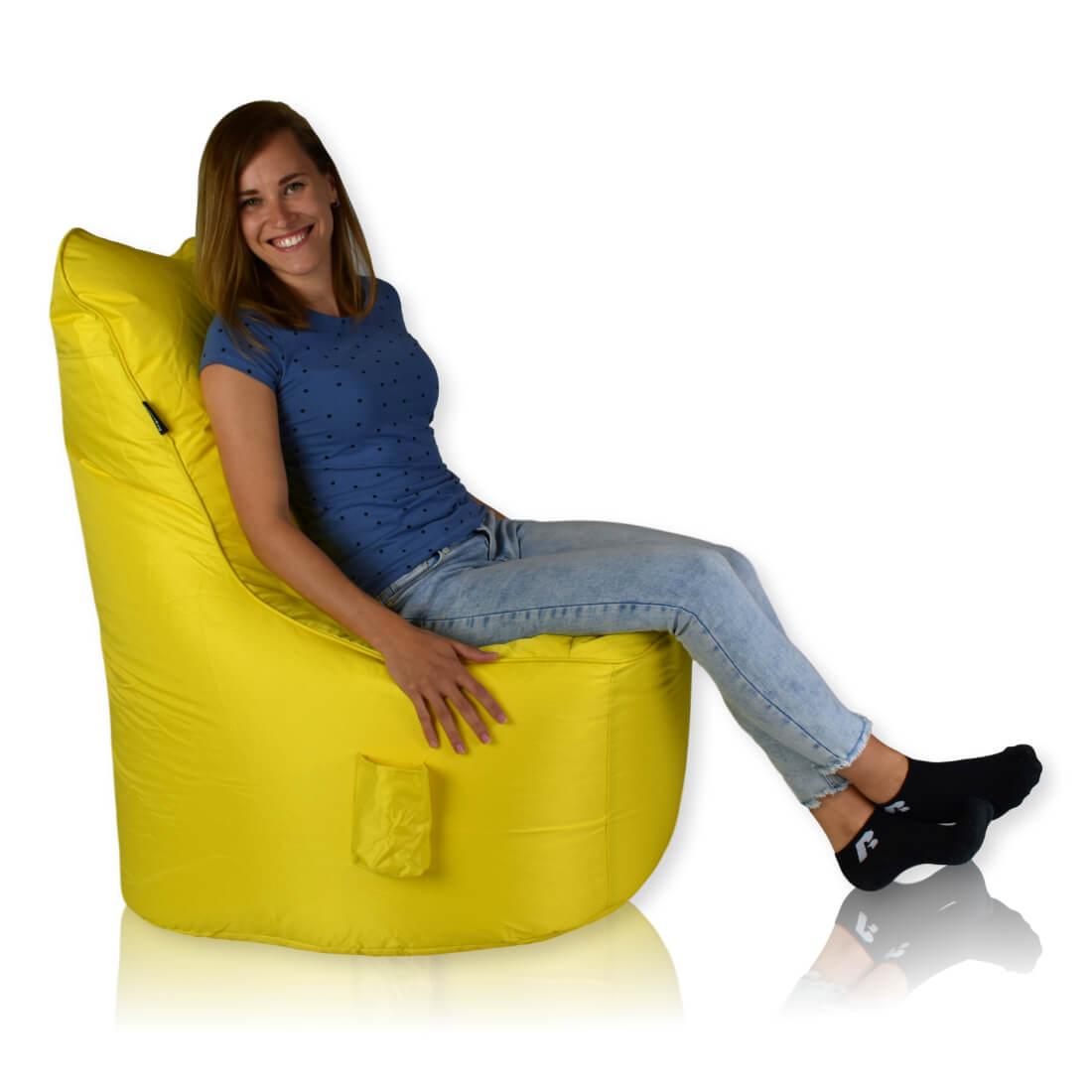 Seat nylon zluta