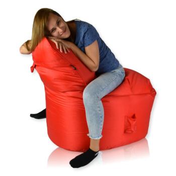 Seat nylon cervena