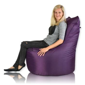 Seat nylon fialova