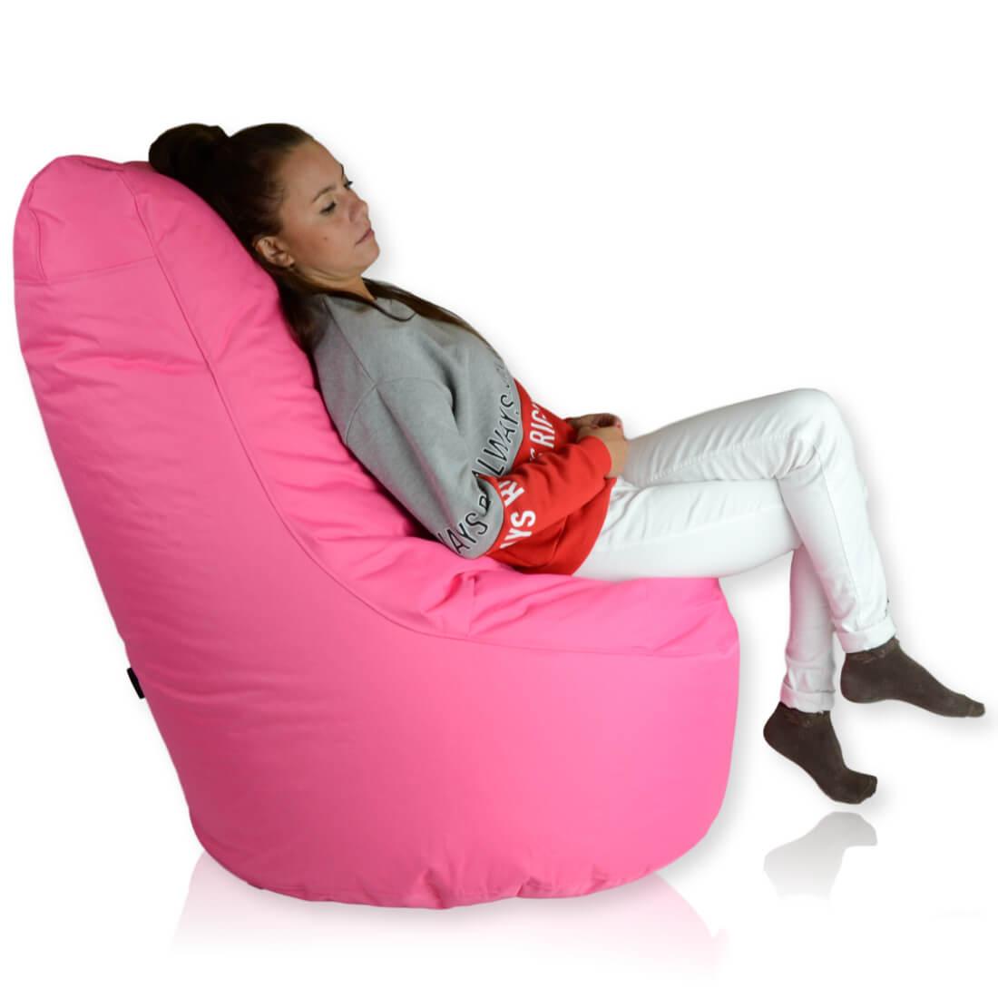 Seat polyester ruzova