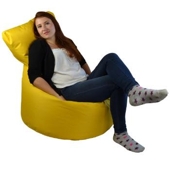 Seat polyester zluta