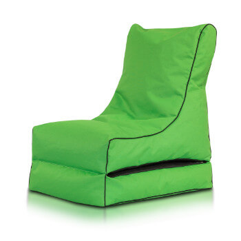 Seat polyester modra
