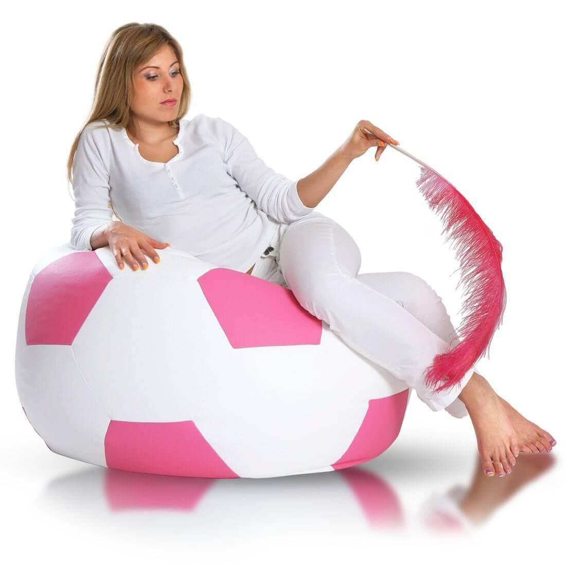 Primabag Fotbalový míč střední růžová